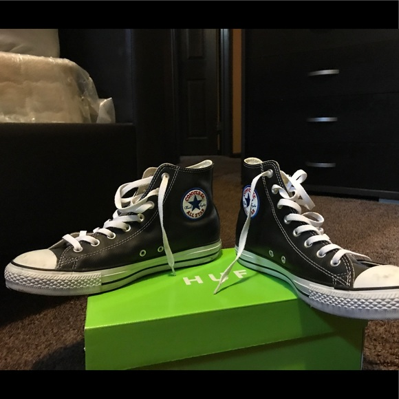 Converse Other - Leather converse high tops